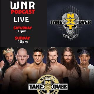 WNRLIVE WNR152 WWENXT TAKEOVER NOLA PRE SHOW