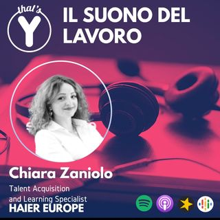 """""""Il Suono del Lavoro"""" con Chiara Zaniolo HAIER EUROPE"""