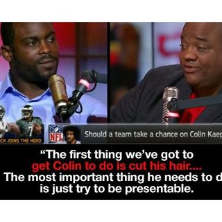 Michael Vick & Jason Whitlock cooning instead of supporting Colin Kapernick!!