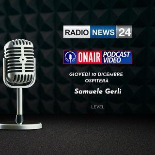"intervista Radio News 24 a Samuele Gerli sul libro ""Facebook è morto"""