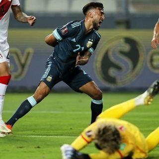 Nicolás González pone arriba a la selección nacional