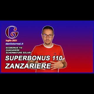 SUPERBONUS 110 ZANZARIERE: come e quando?