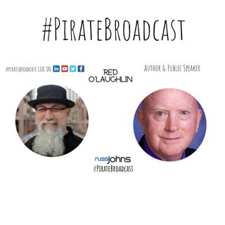 Catch Red O'Laughlin on the #PirateBroacast