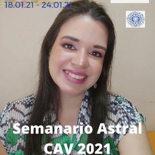 Semanario Astral CAV Enero 2021 Semana 3