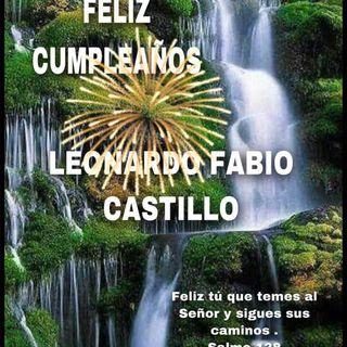 Cumpleaños Leonardo Fabio Castillo 2021