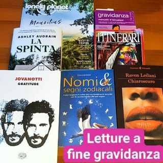 Libri da fine gravidanza, fine stagione, fine epoca, fine del mondo...
