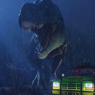 Jurassic Park: T-Rex Attack Scene