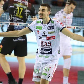 Podrascanin, Rossini e Lorenzetti dopo gara 3 di Semifinale  Play Off Scudetto a Civitanova