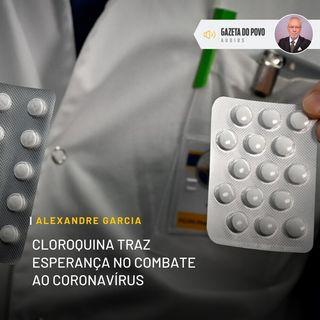 Cloroquina traz esperança no combate ao coronavírus