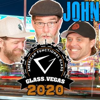 Episode 21 - Glass Artist John Bridges at Glass Vegas 2020