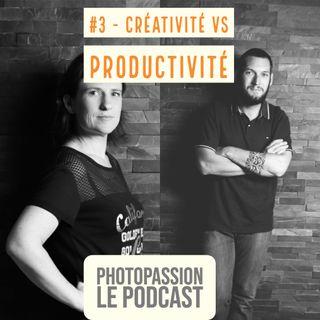 Créativité vs productivité