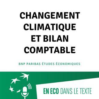 #01 – Changement climatique et bilan comptable