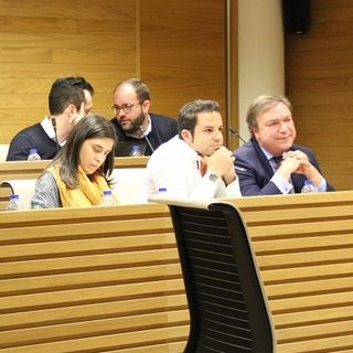 Juan Soler intervienen en el Pleno para defender su inocencia y la de sus concejales