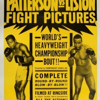 History of Heavyweight Boxing: Chapter 5 - Floyd Patterson & Sonny Liston