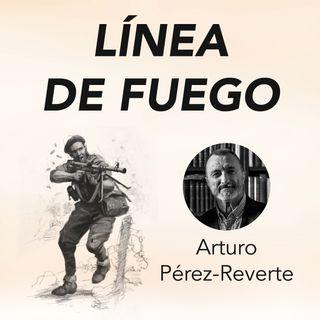 Arturo Pérez-Reverte presenta Línea de fuego