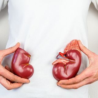 Increased risk of Kidney problems in older people-HA60