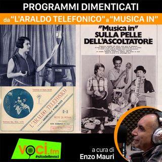 """""""LA STORIA DELLA RADIO"""": PROGRAMMI DIMENTICATI - clicca PLAY e ascolta il podcast"""