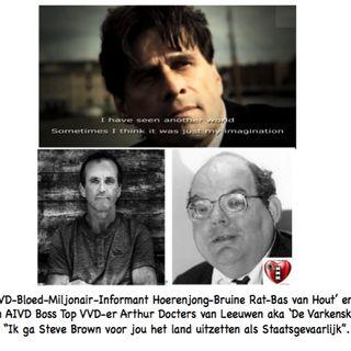 Steve Brown belt NOS eist wederhoor na leugens AIVD informant Bas van Hout.