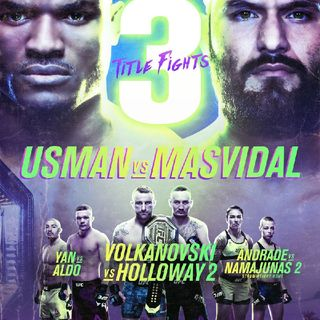 Preview Of The UFC 251 PPV Headlined By Kamaru Usman - Jorge Masvidal For The Welterweight Title Live From Yas Island In Abu Dhabi On ESPN