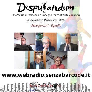 Assemblea Assogenerici 2020 - L' accesso ai farmaci: un impegno tra continuità e rilancio