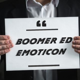 Boomer ed emoticon