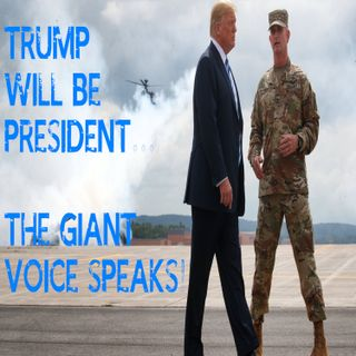 Trump Will Be President...the GIANT VOICE Speaks! #trump2ndterm #trumppresident #truepresident #insurrectionact #coup #treason #trumpreturns