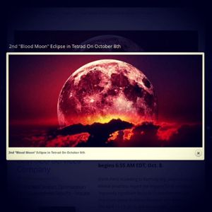 Blood Moon An Exclamation Point