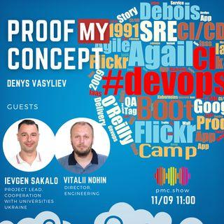 #18 Vitalii Nohin, Ievgen Sakalo: DevOps BaseCamp