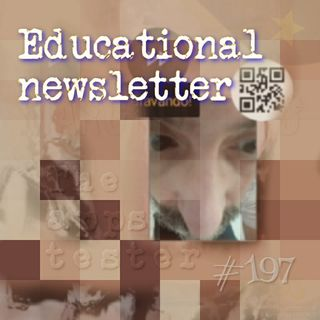 Educational newsletter (#197)