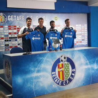 Presentaciones Getafe CF: Bergara, Pacheco y Álvaro Jiménez