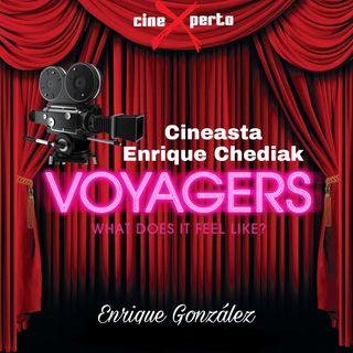 """CineXperto """"Voyagers"""" 2021 Entrevista a Enrique Chediak Director de Fotografia"""