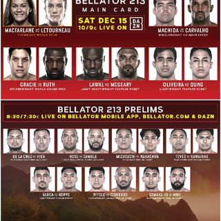 Bellator 213 Main Card Preview And Predictions Great Card