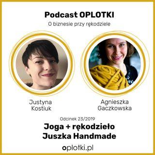 23/2019 - Joga+rękodzieło = Juszka Handmade