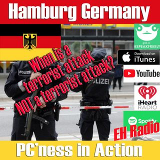 Morning moment Hamburg Germany A terrorist incident? Jan 16 2019