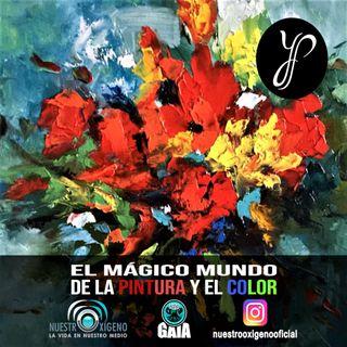 NUESTRO OXÍGENO El magico mundo de la pintura y el color - Yolanda Pinto Pabon
