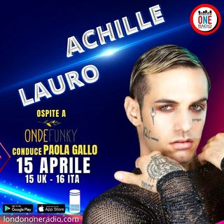 "Achille Lauro: ""La musica inglese fa parte del mio background"""