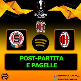 SPARTA PRAGA-MILAN 0-1 | PAGELLE e POST PARTITA