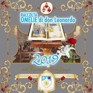 Omelie di don Leonardo Maria Pompei, 2019