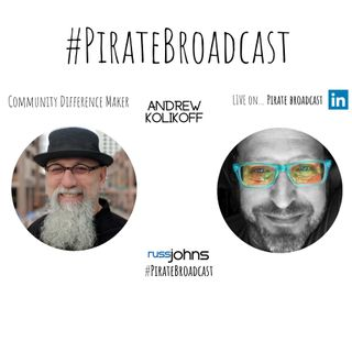 Catch Andrew Kolikoff on the PirateBroadcast