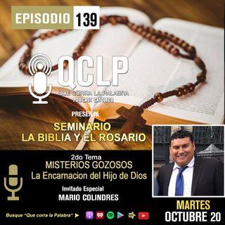 QCLP. LA BIBLIA Y EL ROSARIO. 2. ENCARNACION DEL HIJO DE DIOS