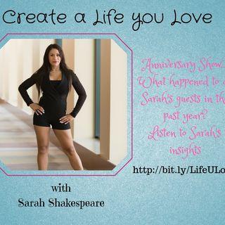 Sarah Shakespeare 1st Anniversary Episode
