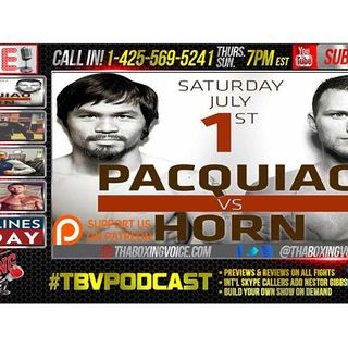 Manny Pacquiao vs. Jeff Horn Preview, Conor McGregor Sparring Paulie Malignaggi?