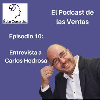 Episodio 10: Entrevista a Carlos Hedrosa