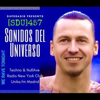 457.-SUPERASIS Presents SONIDOS DEL UNIVERSO (SDU457) RADIO LIVE FROM NYC 02.03.21