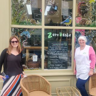 Naoive Coggin from the Greenway Eco Store discusses the ethos of her business