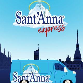 Acqua Sant'Anna punta sul servizio Express