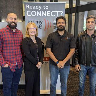 Tech Talk: Adwait Joshi with DataSeers, Karen Cashion with Tech Alpharetta and Jason Perez with Yardz