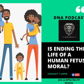 Is Ending the Life of a Human Fetus Moral ?