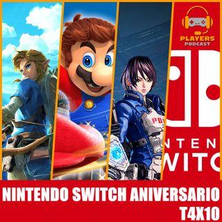 Players Podcast 4x10. 🕹 Nintendo SWITCH 🎂 ¡CUMPLE 4 AÑOS!, Repasamos sus MEJORES JUEGOS y hablamos de su FUTURO......