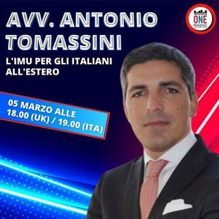 IMU ed IVIE per gli italiani all'estero, interviene l'Avv. Tomassini